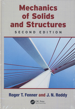 Couverture de l'ouvrage Mechanics of solids and structures (2nd Ed.)