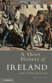 Couverture de l'ouvrage A short history of ireland (3rd ed )