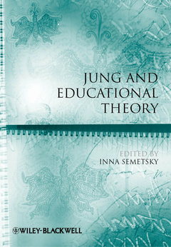 Cover of the book Jung and educational theory (series: educational philosophy and theory special issues) (paperback)