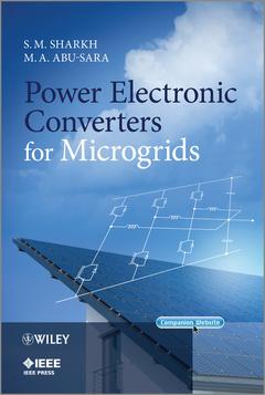 Couverture de l'ouvrage Power electronic converters for microgrids