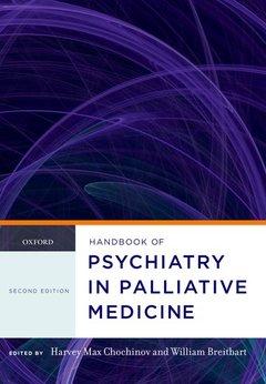 Cover of the book Handbook of psychiatry in palliative medicine (harback)
