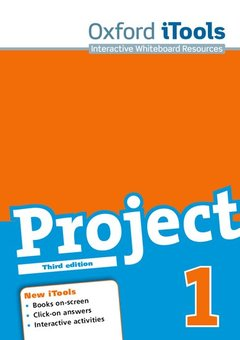 Couverture de l'ouvrage Project 3e 1 itool dvd-rom