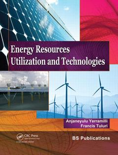 Cover of the book Energy resources, utilization & technologies