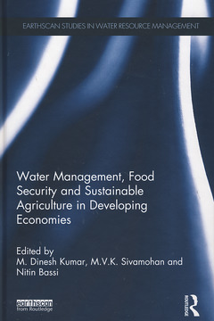 Couverture de l'ouvrage Water management, food security and sustainable agriculture in India