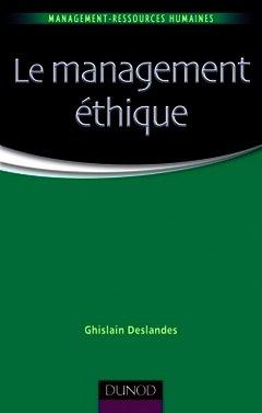 Couverture de l'ouvrage Le management éthique