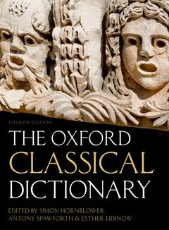 Cover of the book The oxford classical dictionary