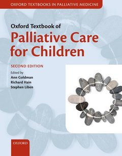 Couverture de l'ouvrage Oxford textbook of palliative care for children