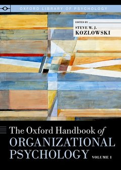 Cover of the book The oxford handbook of organizational psychology, volume 2 (series: oxford library of psychology)