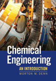 Cover of the book Chemical engineering: an introduction (Paper)
