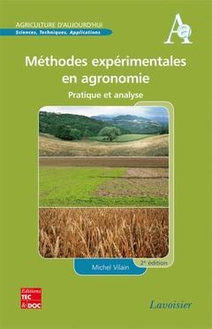 Couverture de l'ouvrage Méthodes expérimentales en agronomie