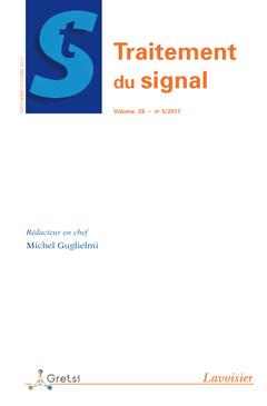 Couverture de l'ouvrage Traitement du signal Volume 28 N° 5/ Septembre-Octobre 2011