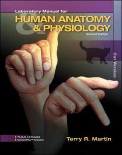 Couverture de l'ouvrage Laboratory manual for human a&p
