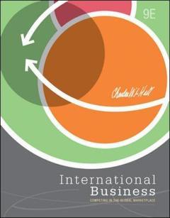 Couverture de l'ouvrage International business