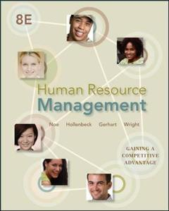 Couverture de l'ouvrage Human resource management