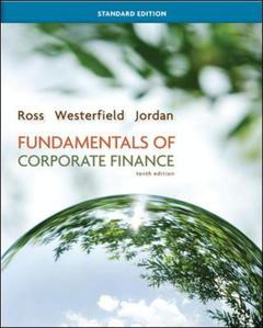 Cover of the book Fundamentals of corporate finance standard edition