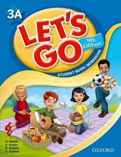 Couverture de l'ouvrage Lets go fourth edition 3a student book workbook
