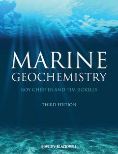 Couverture de l'ouvrage Marine geochemistry , paper