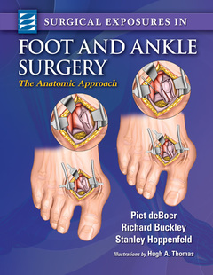 Couverture de l'ouvrage Surgical Exposures in Foot & Ankle Surgery