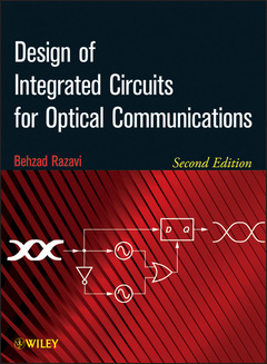 Couverture de l'ouvrage Design of integrated circuits for optical communications