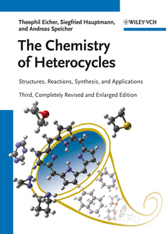 Cover of the book The chemistry of heterocycles: structure, reactions, synthesis, and applications (Paper)