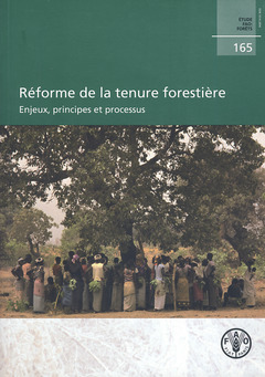 Couverture de l'ouvrage Réforme de la tenure forestière