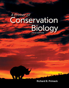 Cover of the book A primer of conservation biology