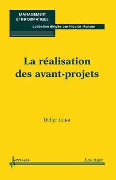 Couverture de l'ouvrage La réalisation des avant-projets