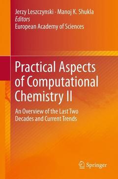 Couverture de l'ouvrage Practical Aspects of Computational Chemistry II