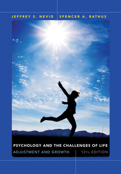 Cover of the book Psychology and the Challenges of Life