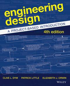 Couverture de l'ouvrage Engineering Design