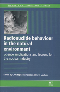 Couverture de l'ouvrage Radionuclide behaviour in the natural environment: