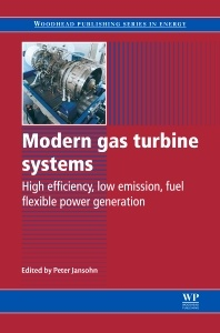Cover of the book Modern Gas Turbine Systems