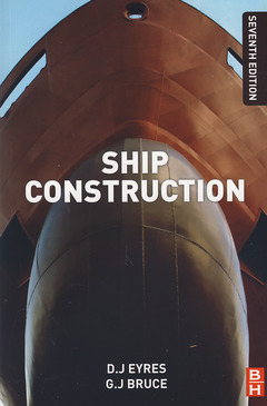 Couverture de l'ouvrage Ship construction (7th Ed.)