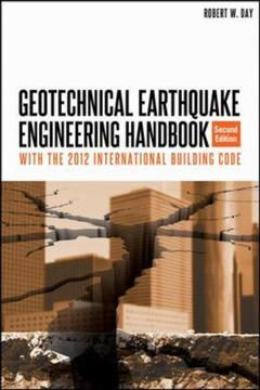 Couverture de l'ouvrage Geotechnical earthquake engineering
