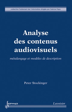 Couverture de l'ouvrage Analyse des contenus audiovisuels