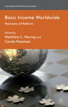 Couverture de l'ouvrage Basic income worldwide. Horizons of reform