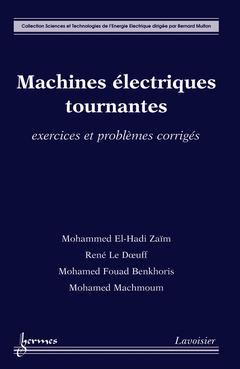Couverture de l'ouvrage Machines électriques tournantes