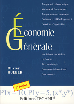 Cover of the book Economie générale (2°Éd.)