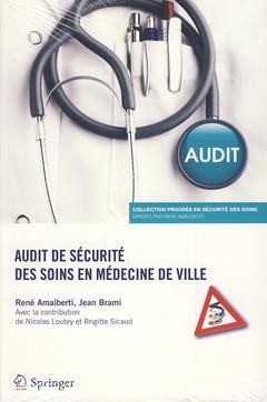Couverture de l'ouvrage Audit de sécurité des soins en médecine de ville