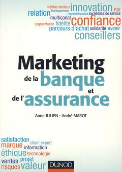 Couverture de l'ouvrage Marketing de la banque et de l'assurance