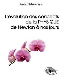 Couverture de l'ouvrage L'évolution des concepts de la physique de Newton à nos jours