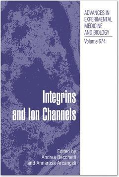 Couverture de l'ouvrage Integrins and ion channels