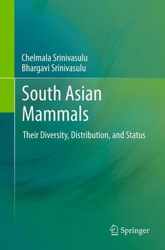Couverture de l'ouvrage South asian mammals