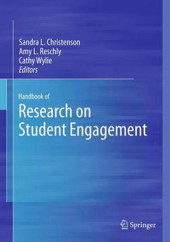 Cover of the book Handbook of Research on Student Engagement