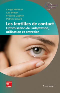 Couverture de l'ouvrage Les lentilles de contact