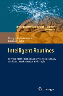 Cover of the book Intelligent routines