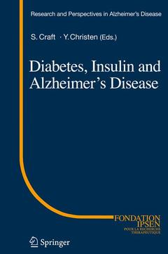 Cover of the book Diabetes, insulin and alzheimer's disease