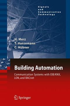 Couverture de l'ouvrage Building automation