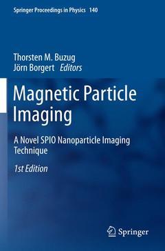 Couverture de l'ouvrage Magnetic particle imaging