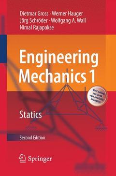 Couverture de l'ouvrage Engineering mechanics 1